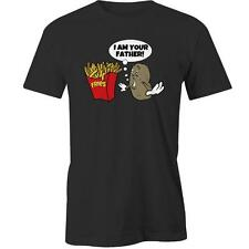 I Am Your Father T-Shirt Potato Fries Chips Funny Humour Day Tee New