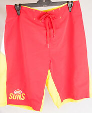 Official AFL Gold Coast Suns Mens Boardshorts