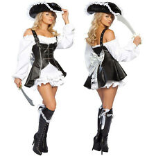 4757 black Pirate Costume women adult halloween Sexy Pirate warrior cosplay hat