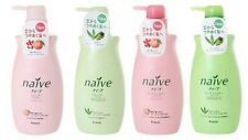 Kracie naive Shampoo Conditioner Natural Amino Peach Aloe Import JAPAN