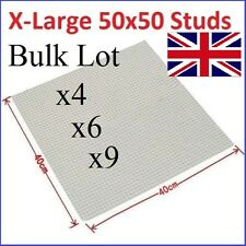 X Large 50x50 Studs BASE PLATE x1 x4 x5 x9 Compatible Construction Blocks Board