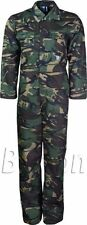 Army Boiler Suit Camo Camouflage Boilersuit Overall Coverall