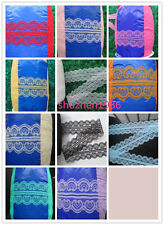 10-200 yards bilateral Beautiful Smile lace ribbon lace embroidery colors