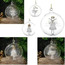 PERSONALISED Baby1st Christmas Tree Decoration Ornament Bauble Unique Gift Idea