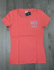NEW NWT Womens Hollister & Co T Shirt Size XS S M L Pink & Blue