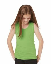 LAT - Girls' Fine Jersey Tank Top - 2690 100% combed ringspun cotton NEW!!!!!!!