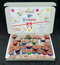 Chocolate Icy Cups Jazzles Retro Gift Box Personalised Love 21st Birthday Father