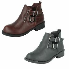 Girls Spot On Ankle Boots H5035