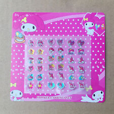 1 Sheets 18 Pairs My Melody Sticker Earrings Set Birthday Party Favor