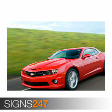 CHEVROLET CAMARO SS (0757) Car Poster -  Picture Poster Print Art A0 A1 A2 A3 A4