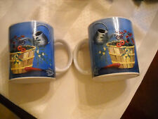 2 Designpac Gardening Flowers Water Can Gloves Collectible Coffee Tea Cup Mug