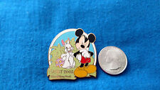 LOT/SET OF 1 Disney PIN Easter Egg Hunt Collection 2005 Mickey Mouse RABBIT