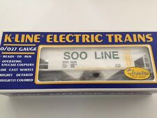 K-Line # K-6228 Soo Line Classic Covered Hopper Car (White)