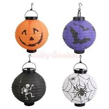 Halloween Paper Lantern Hanging Pumpkin Lamp Outdoor Party Decoration Scary