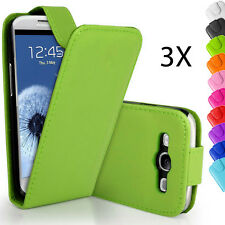 3X Samsung Galaxy Phone Case Cover Leather Flip For Samsung Galaxy S3 i9300 SIII