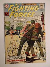 OUR FIGHTING FORCES # 70 - 1962 FN/VF  7.0  GUNNER SARGE POOCH