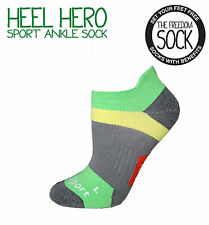 THE FREEDOM SOCK HEEL HERO Unisex Men's Women's Gel Heel Support Sport Sock