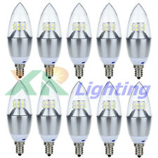 10x E12 (Candelabra) Dimmable 10W 14W SMD Share LED Chandelier Light Bulb 110V