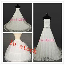 white/ivory lace wedding dress Bride Gown Stock Size: 6 8 10 12 14 16 or custom