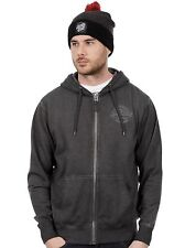 Santa Cruz Carbon Black Bolt Zip Hoody