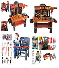 CHILDRENS KIDS TOOLS & WORK SHOP BENCH PLAYSET CONSTRUCTION PLAY TOY TOOL KIT