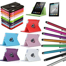 High Quality Apple PU Leather 360 Rotate Stand Case Cover For Apple iPad Air2