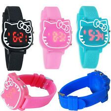 Hellokitty FACE LED Digital watch kids Girls wrist watches cute gift children