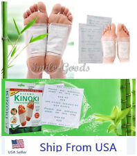 KINOKI Herbal Detox Foot Pads Detoxification Cleansing Patches  As Seen On TV US