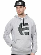 Etnies Grey-Heather Geo Icon Hoody