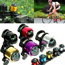 New Popular Compass Metal Ring Handlebar Bell Sound For Bike Bicycle Accessory