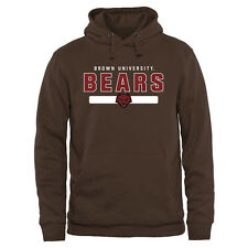 Brown Bears Brown Team Strong Pullover Hoodie