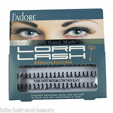 Ultra Thick Knot Eyelashes Individual Flare Cluster Lashes 60 Peice / Set
