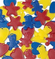 10 Balloon Weights for Helium Foil Latex Kids Party Birthday Hearts Star Teddy