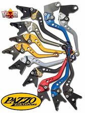 Buell XB9 All, XB12 2004-08, Ulysses PAZZO RACING Lever Set ANY Color and Length