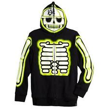 Tony Hawk Boys Skeleton Graphic Sweatshirt with Full Hoodie ~Size S,M,L~$44~NWT