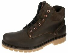 Wrangler Yuma Newton Dark Brown Lace up Chelsea, Ankle Boots Mens Leather