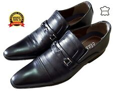 Mens Leather made Wedding Party Formal designer look Dress Office shoes boots