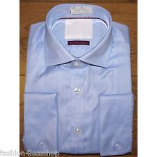 M&S MENS COTTON SARTORIAL EGYPTIAN COTTON Reg.Fit Shirt - DOUBLE CUFFS RRP £49