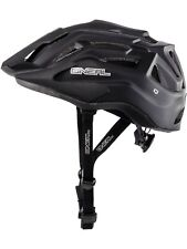 Oneal NEW Q Cycle Matte Black Downhill Mountain Bike MTB BMX Bicycle Helmet