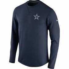 Dallas Cowboys Stadium Club Crew Neck Pull Over- Gray