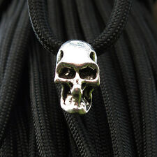 Double Hole Charm Metal Skull /Ninja Beads for Paracord Lanyards