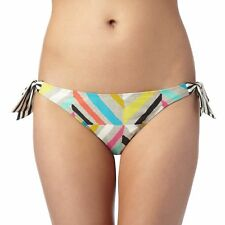 Principles By Ben De Lisi Womens Designer Black Zig Zag Print Bikini Bottoms