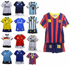 Football Summer Shorts Boys New Girls Top Vest Kit Set Size Age 2 Years Bnwt