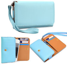 Universal Wallet Cover Case Clutch Style for HTC, Huawei, Icemobile, Karbonn
