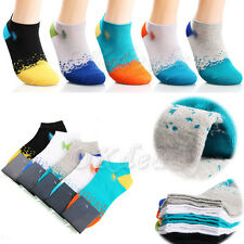 1 Pairs Ankle Crew Men Cotton low cut Casual Sport Multi Color Socks Xmas Gift
