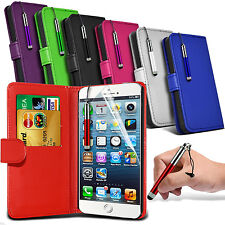 Stylish Stand Wallet Book Flip Folio Leather Phone Case Cover Pouch Holder Shell