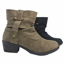Womens Booties Boots High Heels Wedges Platforms Hidden Heels Suede NEW FASHION