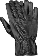 Men's Perforated Summer Leather Motorcycle Glove w/ Anti Slip Gripping SH703