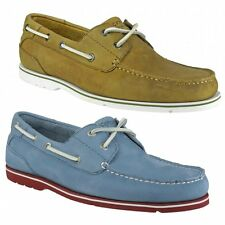 Rockport SUMMER TOUR 2 EYE Mens Leather Nubuck Holiday Lace Up Deck Boat Shoes