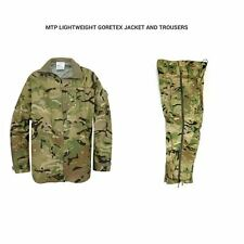 BRITISH ARMY MTP LIGHTWEIGHT GORETEX JACKET AND TROUSERS - GRADE 1 - WATERPROOF